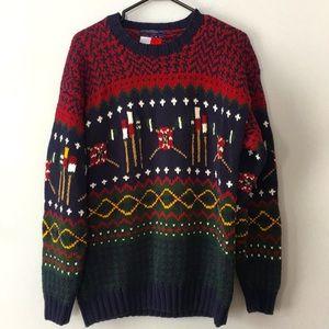 Vintage Tommy Hilfiger Cable Knit Sweater Mens L